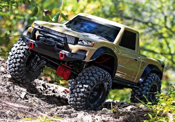 Traxxas: TRX-4 Sport with Desert Tan body
