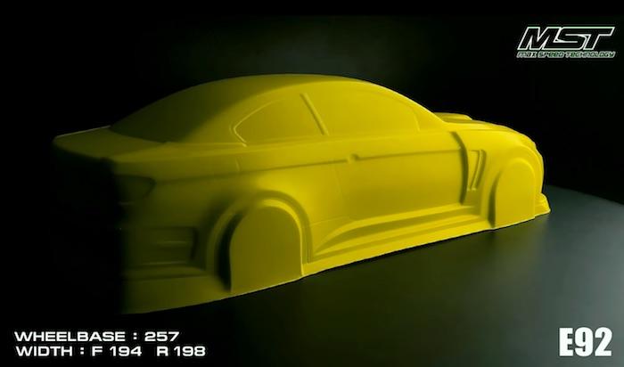 200mm Drift Car
