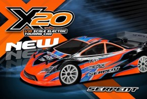 Serpent: X20 - 1/10 Electric Touring Car