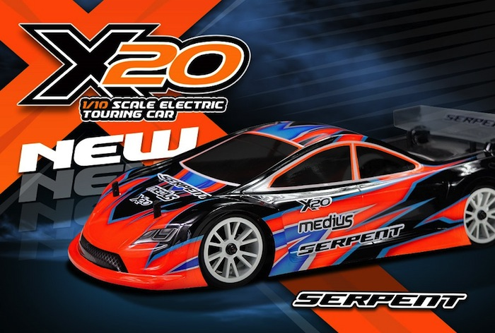 Serpent: X20 1/10 Electric Touring Car