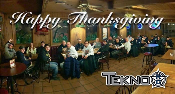 Happy Thanksgiving from Tekno RC!