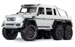 Traxxas TRX-6 Mercedes-Benz 6×6 G63 AMG White Edition