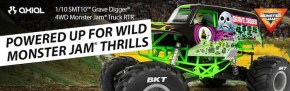 Axial: SMT10 Grave Digger - Monster Jam Truck RTR