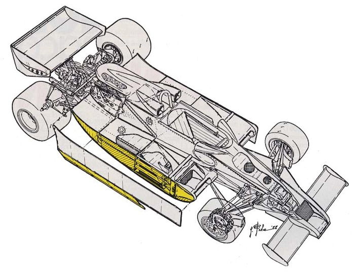 Fenix: Classic Team Lotus 78 body for Tamiya F103 - F104