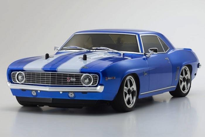 Kyosho: 1969 Camaro Z/28 Blue - FW06