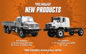 RC4WD: Overland 6x6 RTR RC Truck - Video