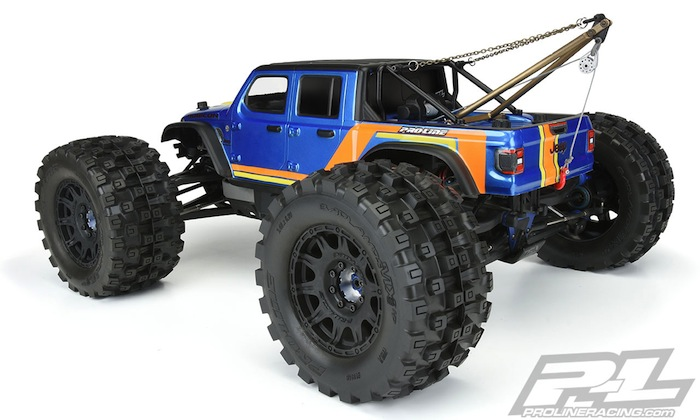 Pro-Line: Jeep Gladiator Rubicon Clear Body for SC and 1:8 MT