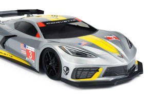 Chevrolet Corvette C8 body for 190mm touring cars