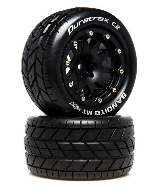 Duratrax Belted-Mounted Tires