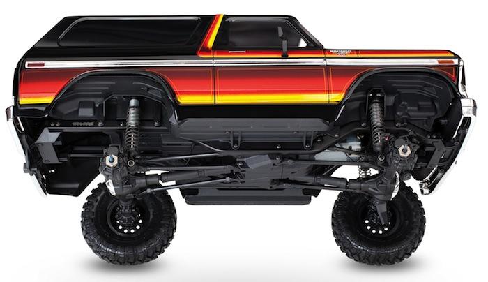 Traxxas - trx4 bronco chassis