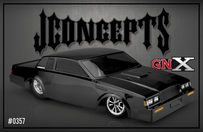 JConcepts: 1987 Buick Grand National Street Eliminator Body