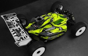 Bittydesign: Vision body for XRAY XB8 buggy
