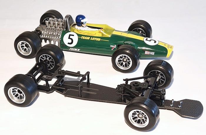 Fenix Racing Classique 2 1 10 F1 Car Kit