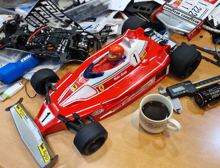 Fenix Racing Ferrari T2 body shell