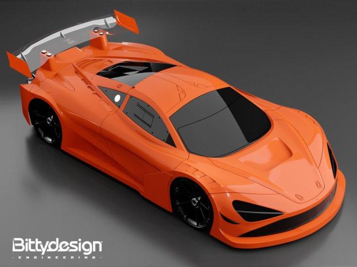Bittydesign- 1 7th Scale Seven65 Body orange