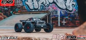 ARRMA: OUTCAST EXB 1/5 Xtreme Bash Roller