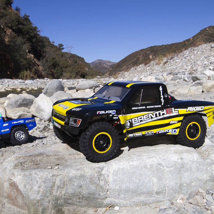 The Losi® TENACITY® TT Pro 1/10-scale 4WD is the legendary TEN platform reimagined. Fast, tough, and loaded with the latest technology, this trophy truck is just as comfortable on a track as it is in the backyard bashing. Key Features TEN 4WD Platform Waterproof Components 12mm race inspired aluminum bodied shock absorbers and caps Officially Licensed Brenthel race inspired scale trophy truck body Officially Licensed Method Wheels and Falken Wildpeak MT Tires