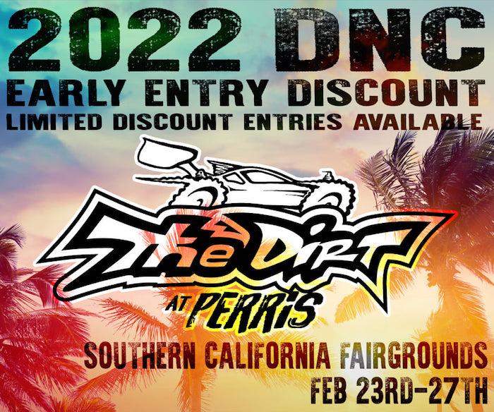 2022 Dirt Nitro Challenge poster