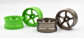 Rêve D: DP5 wheels in bronze and light green