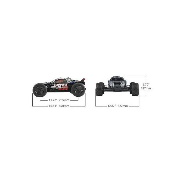 Traxxas Jato 3.3 2WD RTR 2.4Ghz