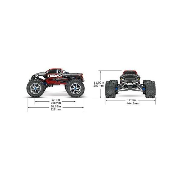 Traxxas Revo 3.3 4WD RTR/Battery