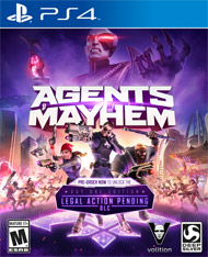 AGENTS OF MAYHEM DAY ONE EDITION – PS4