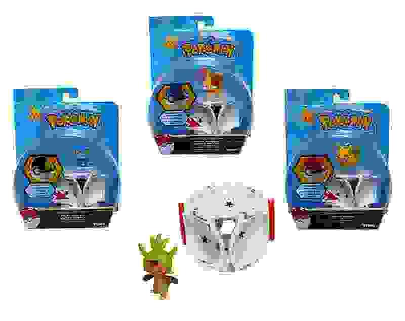 Figura Pokemon 5 Cm. Con Pokebola Pop Up