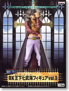 One Piece DX Seven Warlords of the Sea Dracule Mihawk PVC Figure New In Box