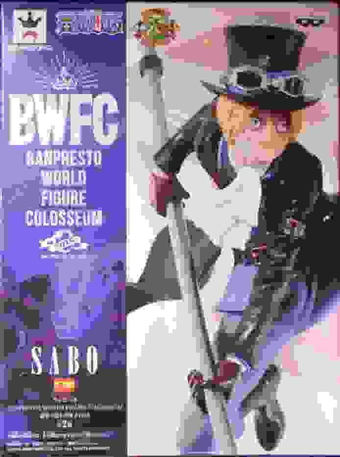 BANPRESTO WORLD FIGURE COLOSSEUM Zoukeiou-Choujokessen 2 Vol8 Sabo ( Normal color)