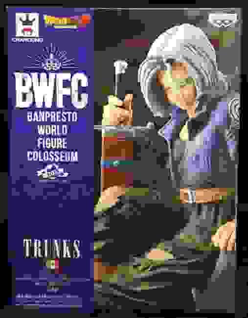 Banpresto BWFC Dragon Ball Zoukei Tenkaichi Budokai 2其之eight trunks ( Normal color)