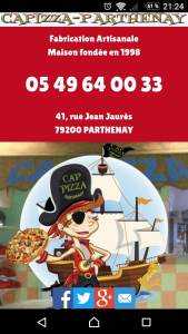 CapPizza Parthenay Mobile4.7
