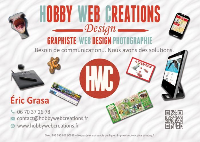 Flyer Hobby Web Créations 2014