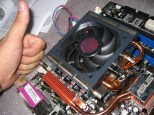 061001 - 11 - Heatsink in place