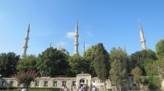 The Blue Mosque has six minarets, just because