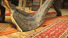 I believe this pure silk rug is estimated to cost 100K