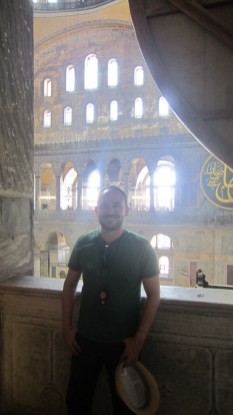 Me and the Hagia Sophia