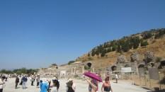 The entrance to Ephesus