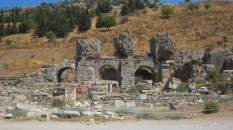 An ancient Greek city with significant remaining ruins