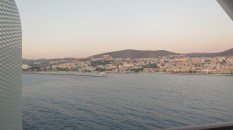 Our view of Kusadasi from the room