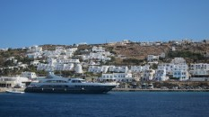 The white buildings of Mykonos