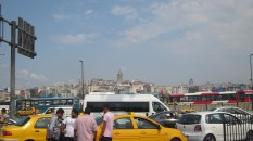 In the distance is the Galata Tower