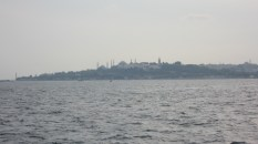 A view towards the Old section of Istanbul with all the well-known mosques