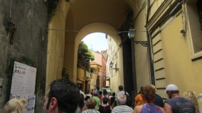 Sorrento was much like Trastevere, with beautiful, pastel-colored medieval walkways