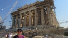 The Parthenon is constanly being preserved as it is constantly deteriorating