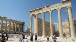The Erechtheum, another ancient Greek temple.