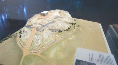Model of Acropolis around 480 BC
