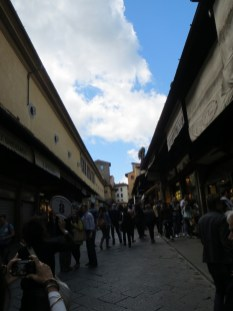 On to the Ponte Vecchio