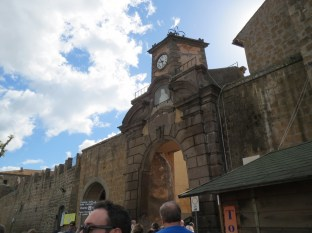 We visited the medieval town of Tuscania