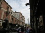Hectic streets of Sorrento