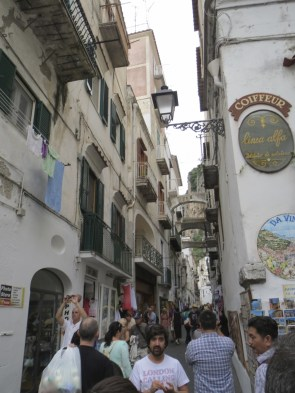 Beautiful Amalfi walking